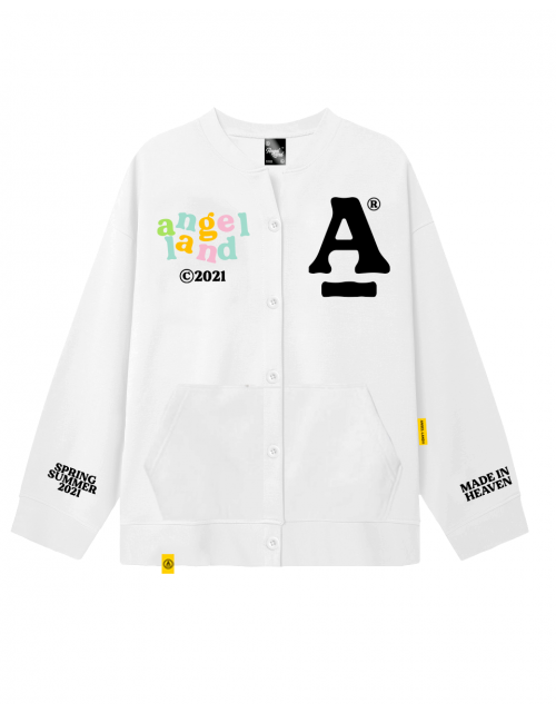CARDIGAN NO MORE BAD DAYS - WHITE