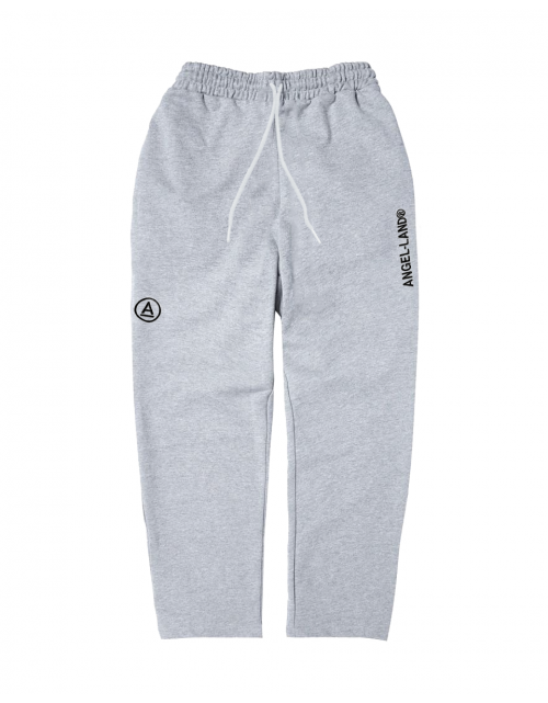 BASIC A-LOGO PANTS GREY