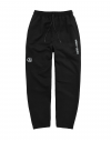 BASIC A-LOGO PANTS BLACK