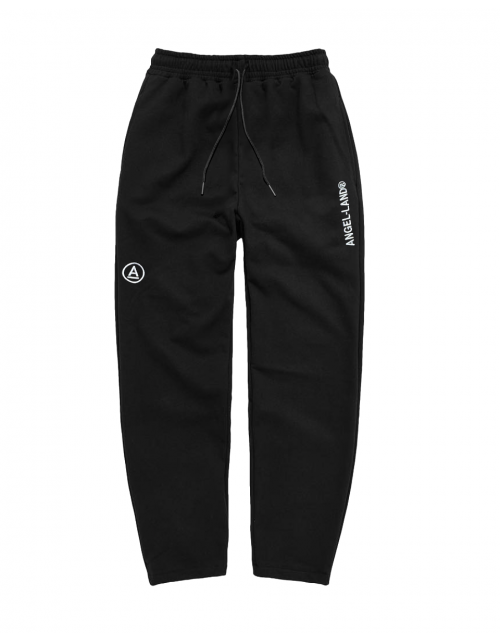 BASIC A-LOGO PANTS BLACK