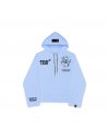 THE FOUR HOODIE-BLUE